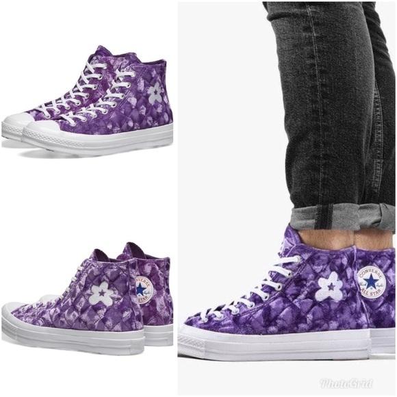 Psiquiatría Motivar Asociación  Converse Shoes | Converse Golf Le Fleur Chuck High Velvet Purple 9 |  Poshmark
